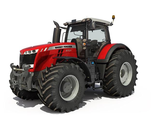 Série MF 8700 S Dyna-VT